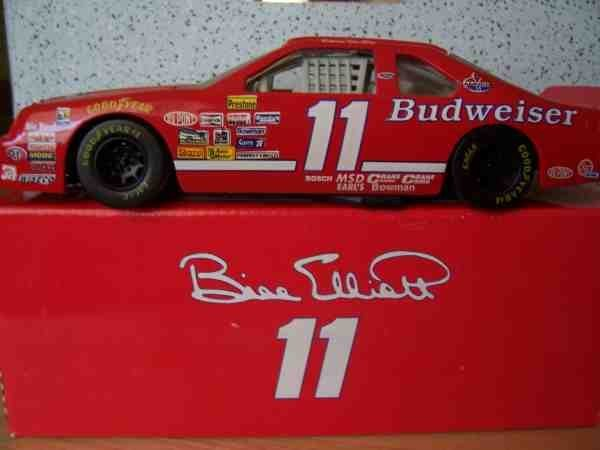 1141: # 11 Bill Elliott/Budweiser 1/24th Car by Action