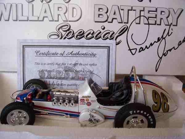1161: # 98 Mario Andretti/Willard Battery Vintage Dirt