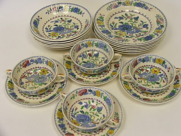 709: A Collection of Masons Regency Dinnerware to Inclu