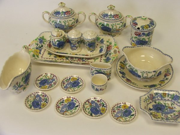 718: A Collection of Masons Regency Pattern China viz T