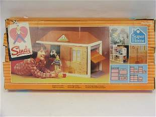 Sindy Super Home stable/garage in original box by