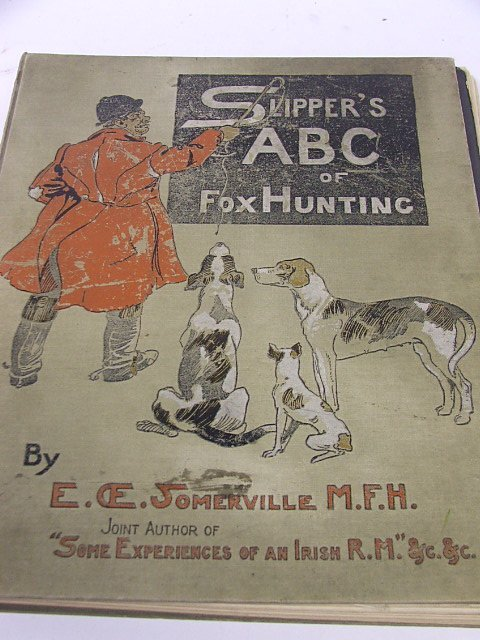 906: A Bound Volume 'Slipper's ABC of Foxhunting' by E