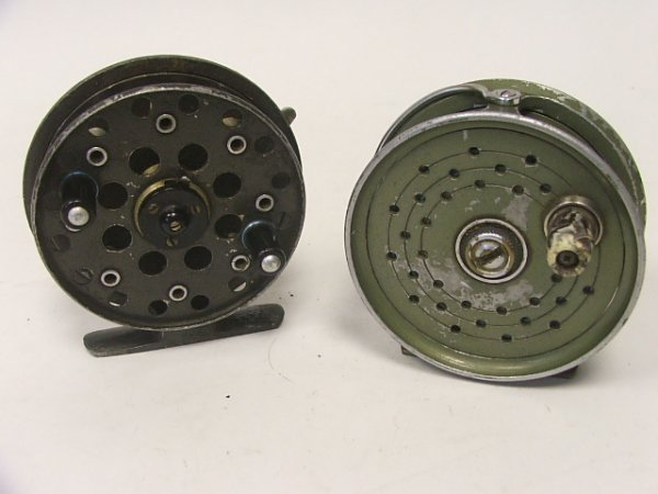 918: A Grice & Young Avon Royal Fly Fishing Reel togeth