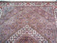 A fine Persian Bijar handwoven rug