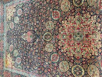 Important Antique Persian Kerman Palace size rug