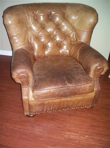 A large Leather Chair