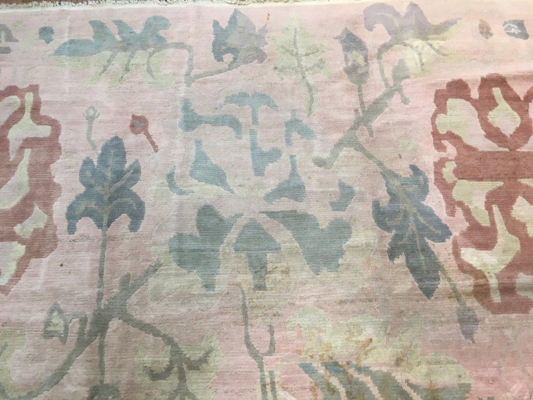 Used Tibetan hand woven rug