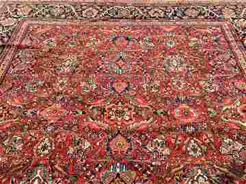 Antique Genuine Persian MAHAL palace size rug