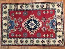A small kazak design rug