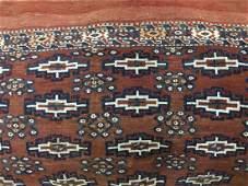 Antique Turkmen / Turkoman saddle bag covered Cushion