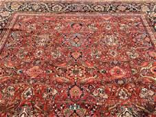 Antique Persian Mahal palace size rug