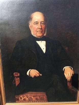James Archer (1823- 1904) Scottish oil on canvas