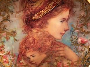 Edna Hibel plate titled Eve & Child