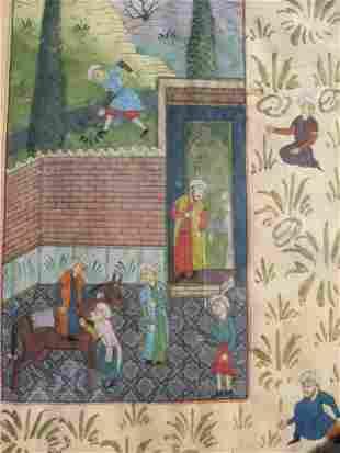 Antique Persian Miniature painting