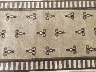 A Nepalese contemporary Runner rug