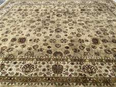 A Palace Size Indian Agra handwoven rug