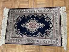 A Pure Silk Turkish Signed HEREKE rug