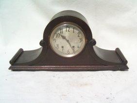 Antique Set Thomas Mantle Clock -