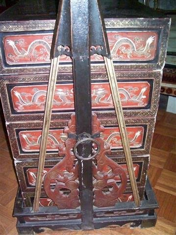 Important Antique Chinese Wedding Dowry Boxes & Carrier - 10