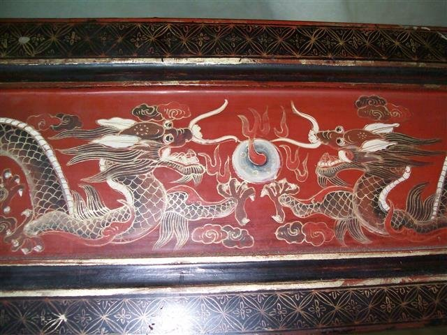 Important Antique Chinese Wedding Dowry Boxes & Carrier - 6