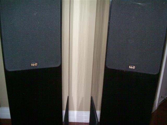 Pair of NHT Floorstanding Speakers - 2