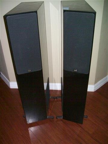 Pair of NHT Floorstanding Speakers - 9