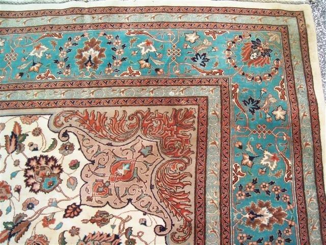 Persian TABRIZ vintage handwoven rug - 5