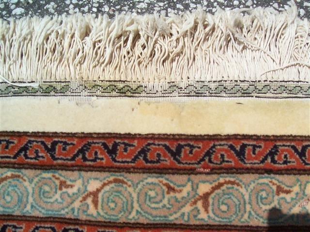 Persian TABRIZ vintage handwoven rug - 9