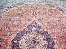 Antique Persian Palace Size Kashan handmade rug