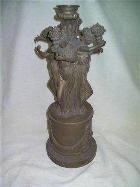 "Empire French style period Bronze Candelabra 21 """