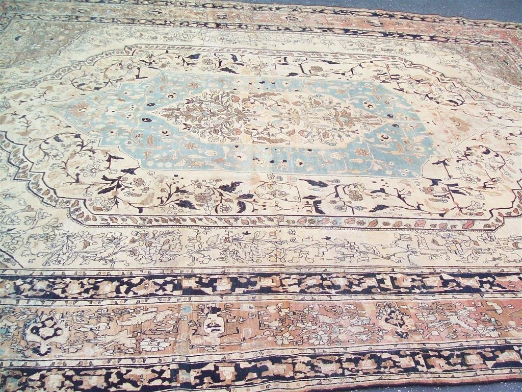 Important antique persian Tabriz  (11-2 by 14-7)
