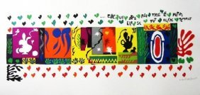A Henri Matisse lithograph -A Thousand And One Nights