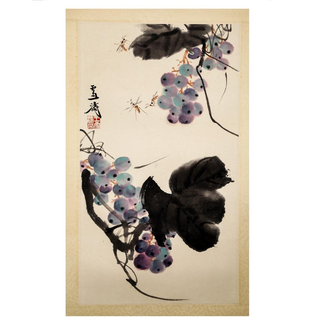 CHINESE INK AND COLOR PAINTING, WANG XUETAO