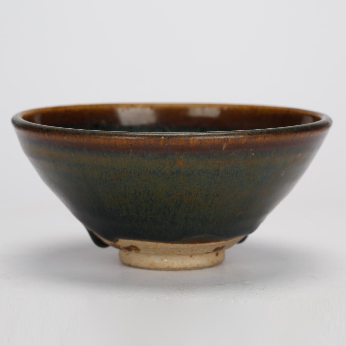 CHINESE JIAN WARE TEA BOWL, QING DYNASTY