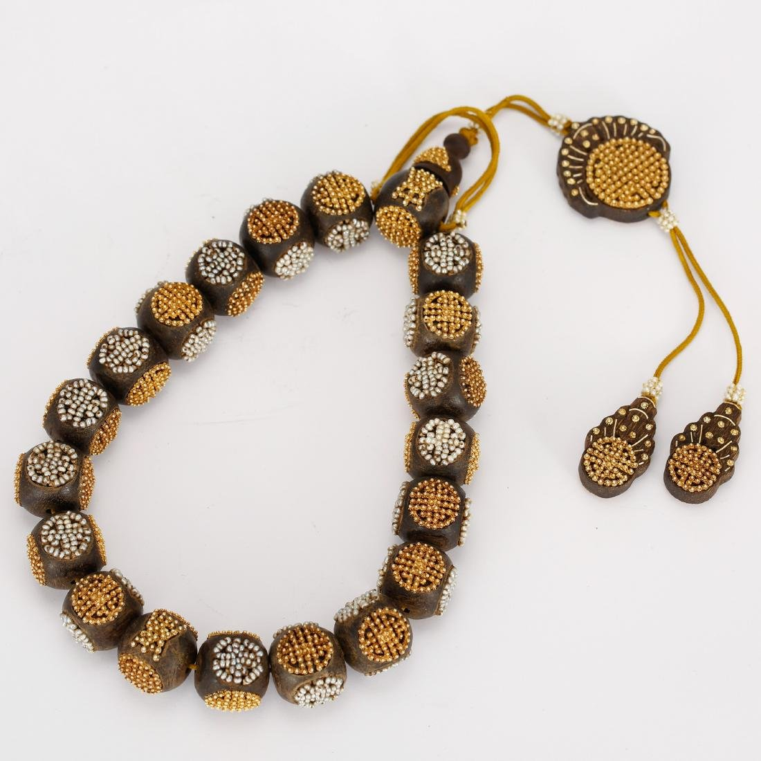 CHINESE QING DYNASTY CHENXIANG BEADS BRACELET - 3