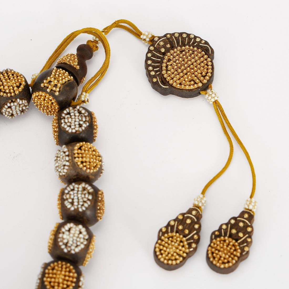 CHINESE QING DYNASTY CHENXIANG BEADS BRACELET - 4