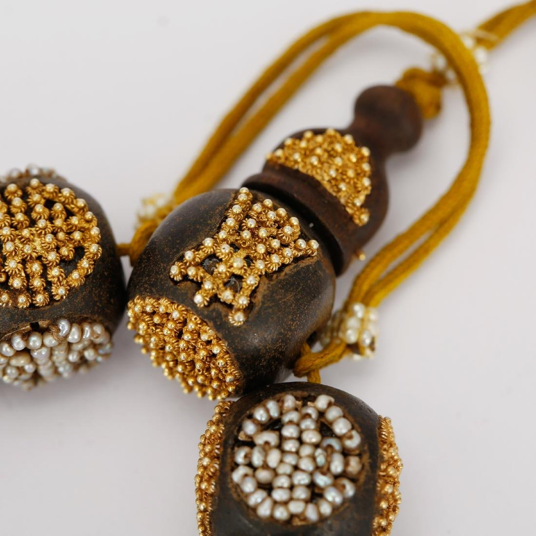 CHINESE QING DYNASTY CHENXIANG BEADS BRACELET - 5