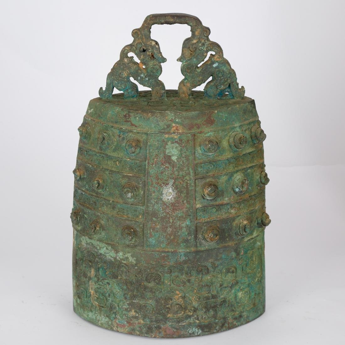 CHINESE ARCHAIC STYLE BRONZE BELLS - 3