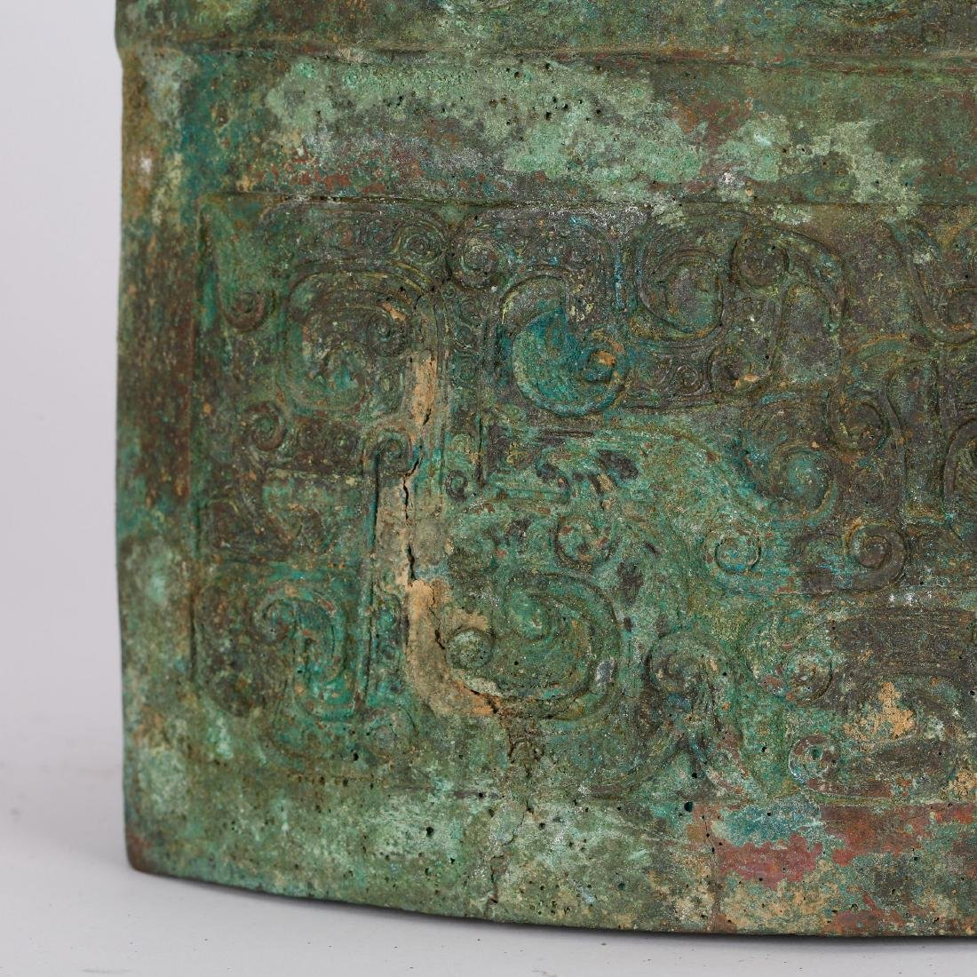 CHINESE ARCHAIC STYLE BRONZE BELLS - 5