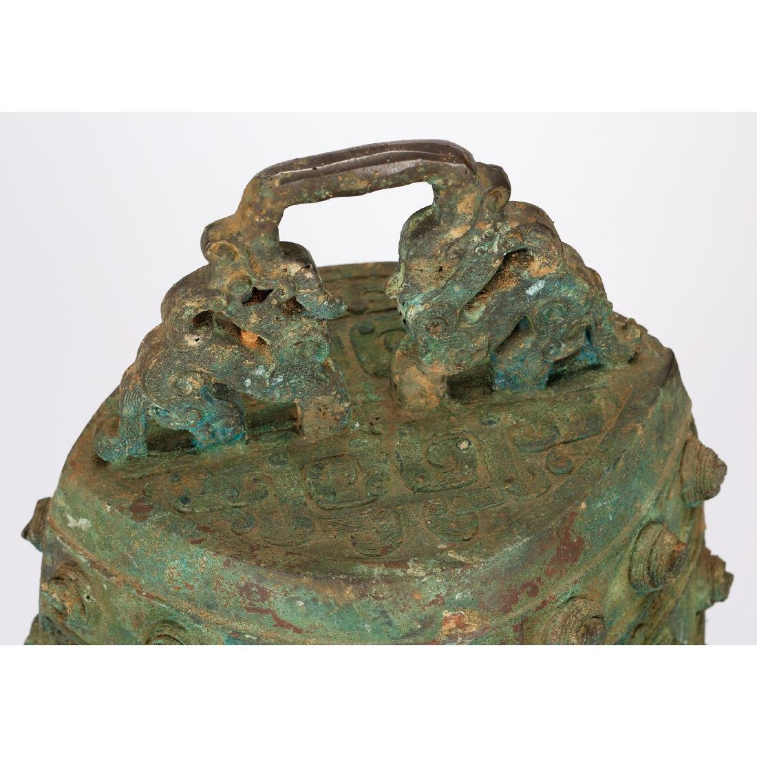 CHINESE ARCHAIC STYLE BRONZE BELLS - 6