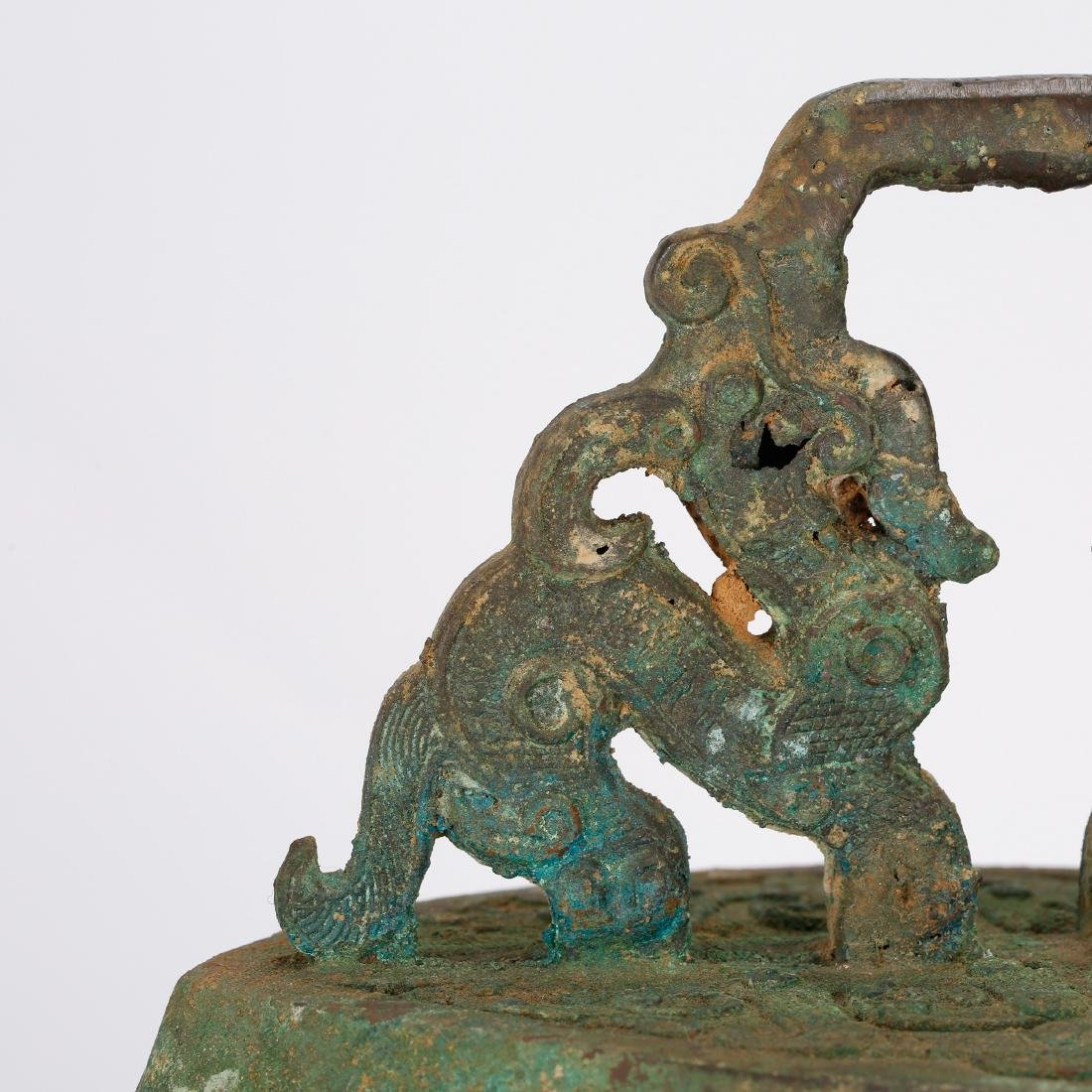 CHINESE ARCHAIC STYLE BRONZE BELLS - 7