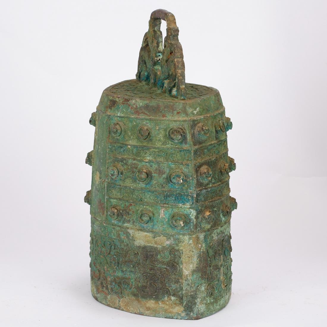 CHINESE ARCHAIC STYLE BRONZE BELLS - 8