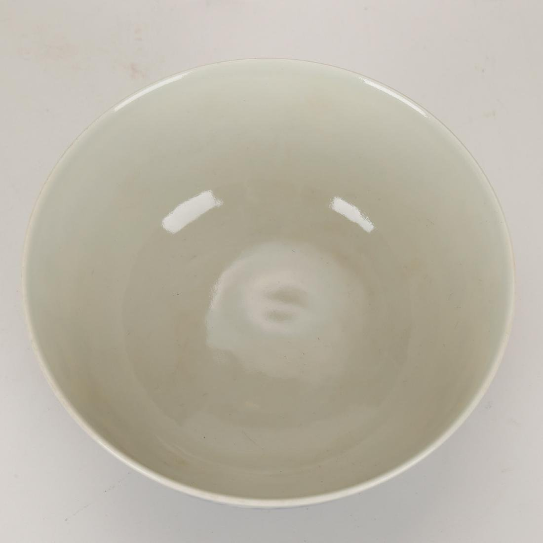 CHINESE BLUE AND WHITE COVER BOWL - 5
