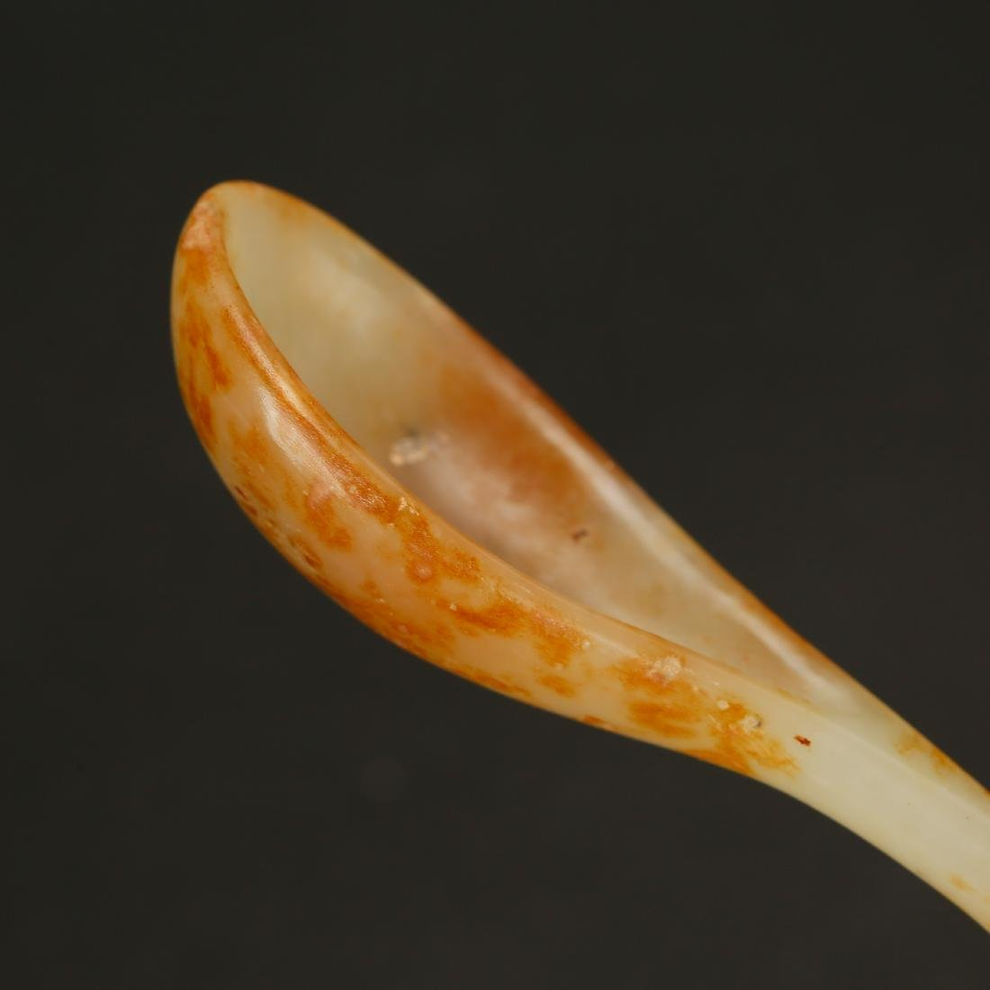 CHINESE ARCHAIC JADE SPOON - 3