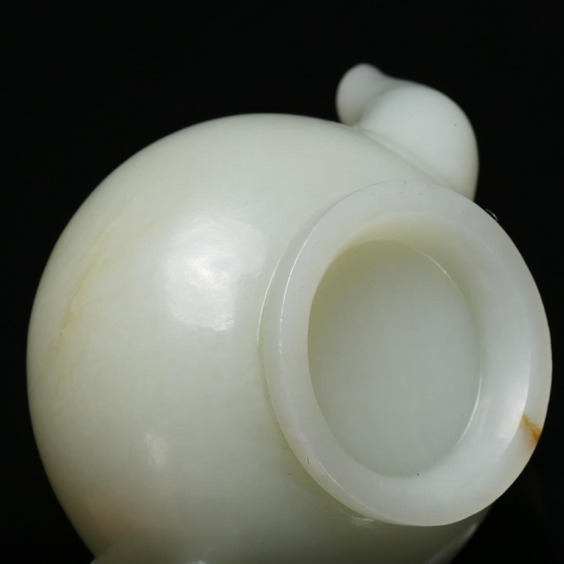 CHINESE CELADON JADE TEA POT - 10