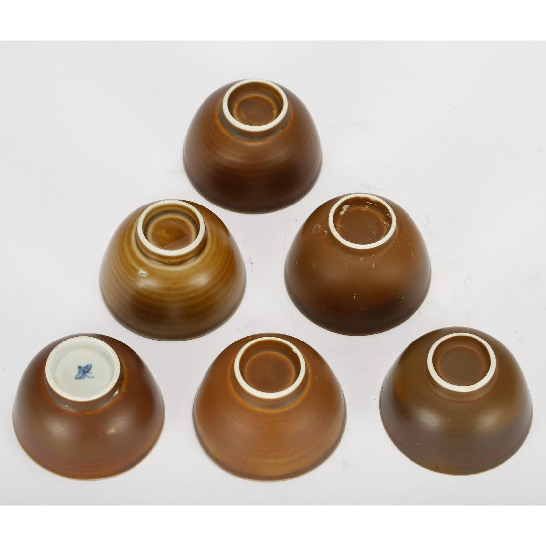 CHINESE GROUP OF 6 TEA CUPS - 3