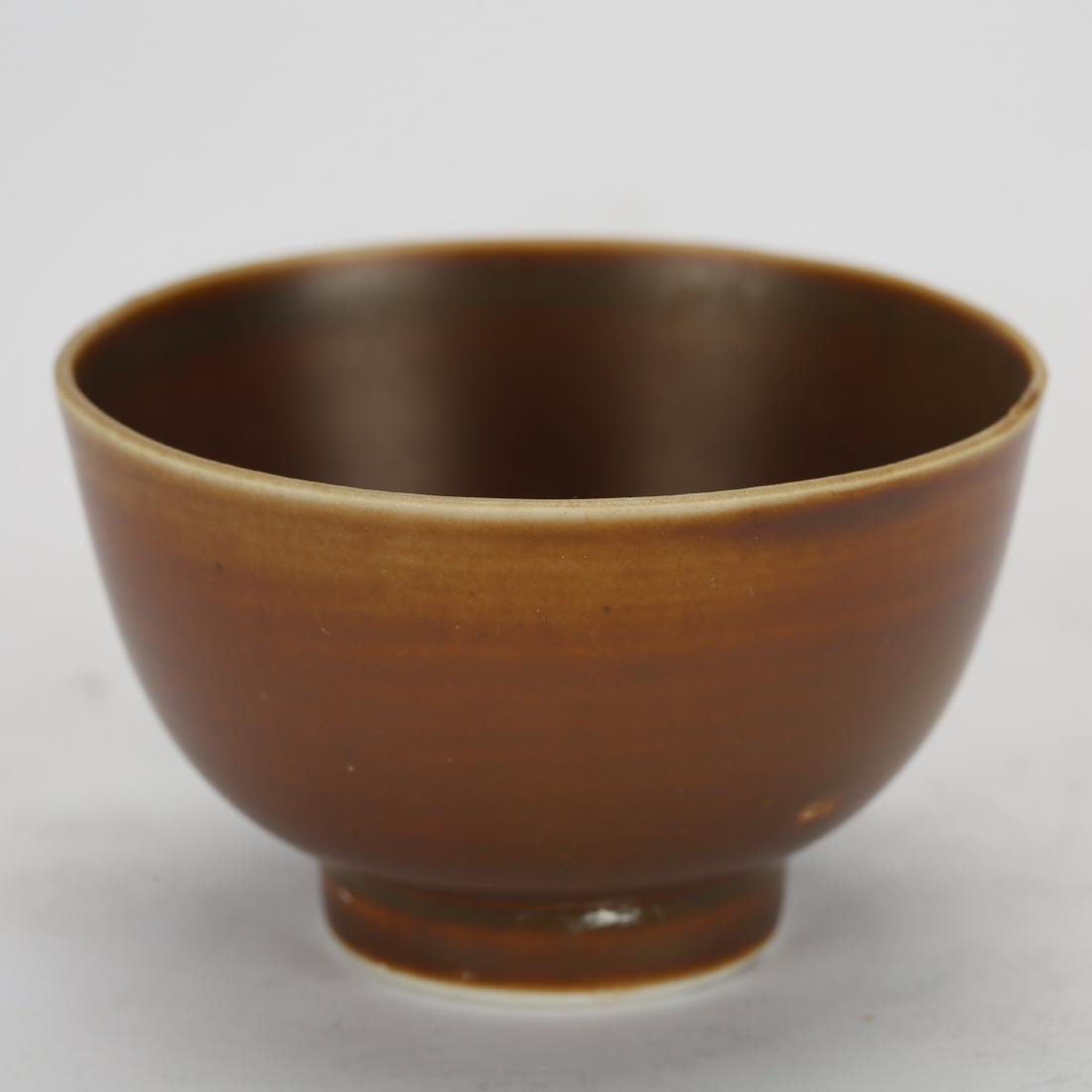 CHINESE GROUP OF 6 TEA CUPS - 5