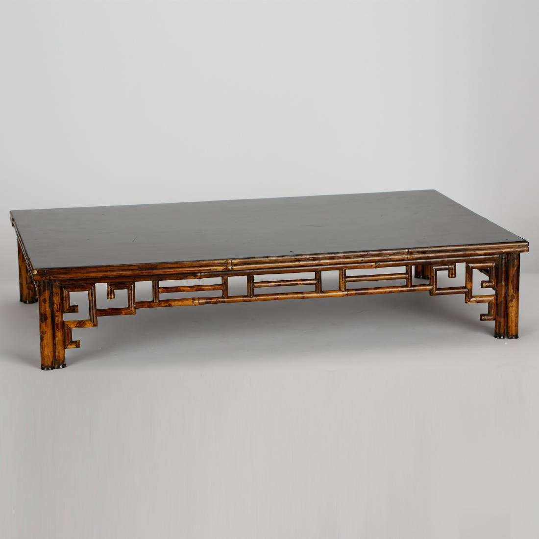 CHINESE BAMBOO TEA TABLE