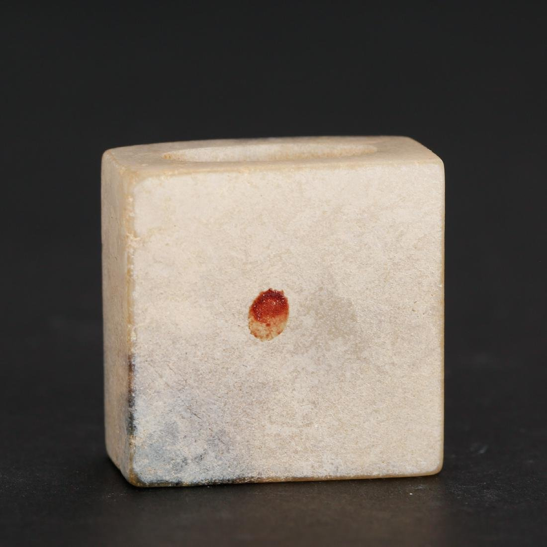 CHINESE ARCHAIC STYLE JADE SEAL - 3