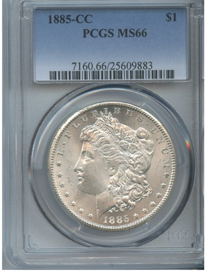1885-CC $1 MS66 PCGS Carson City Silver Dollar